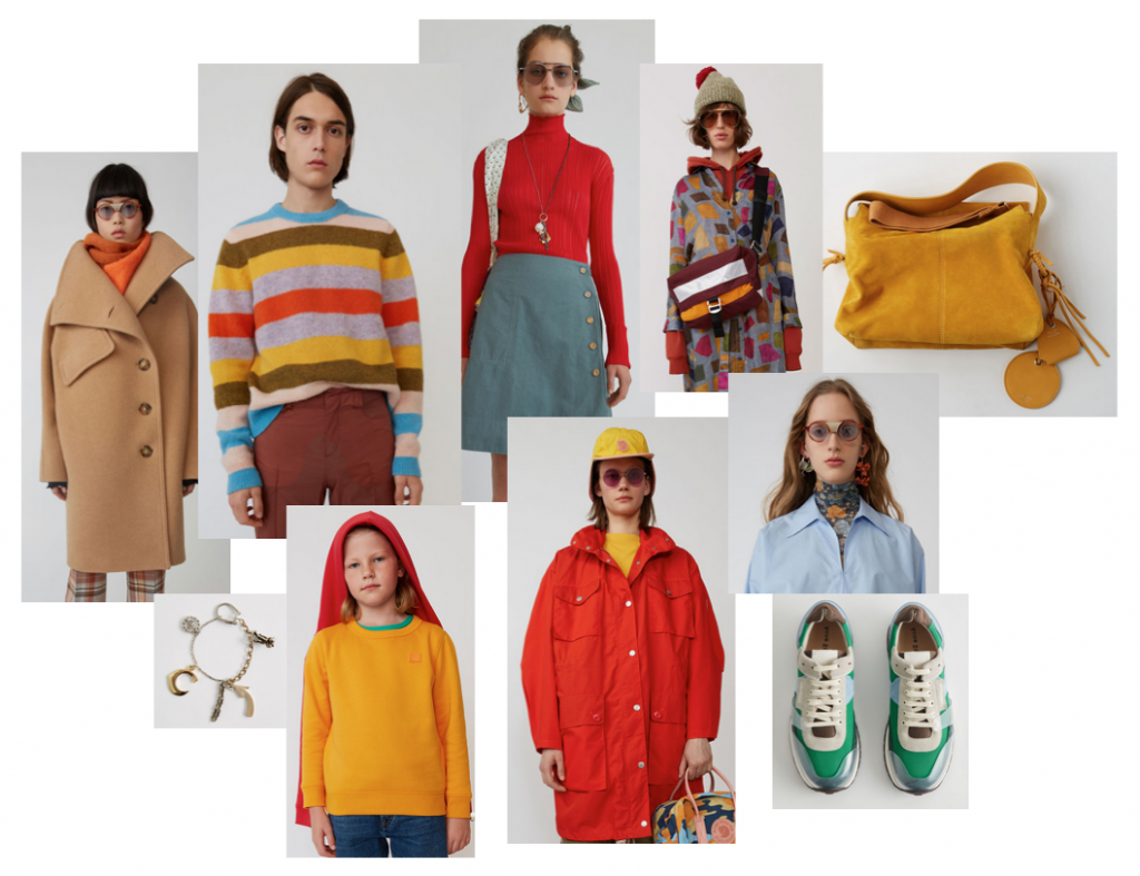 Eclectic luxe ethical fashion from Acne Studios