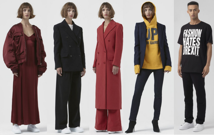 Katharine Hamnett ethical fashion women and menswear Katharine Hamnett
