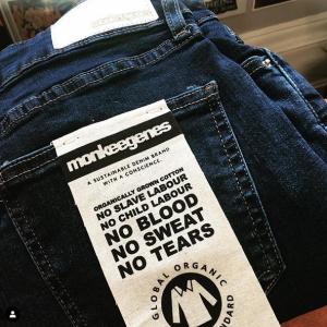 ethical fashion denim jeans brand Monkee Genes