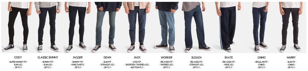 Ethical mens denim brand jeans Monkee Genes